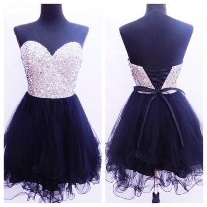Tulle Homecoming Dress,Cute Prom Dr..