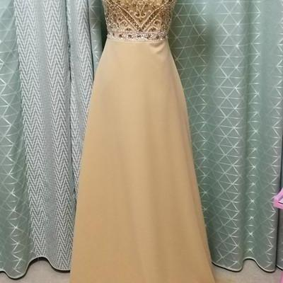 Charming Prom Dress,Short Sleeve Pr..