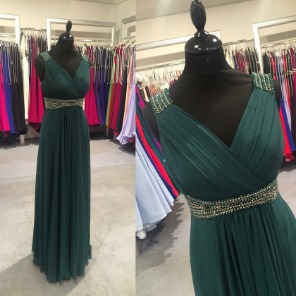 Charming Prom Dress,Floor Length Ch..