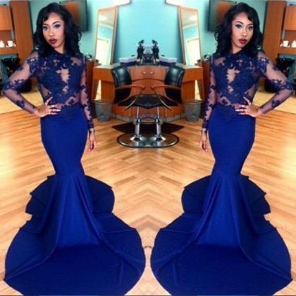 Charming Prom Dress, Mermaid Evenin..