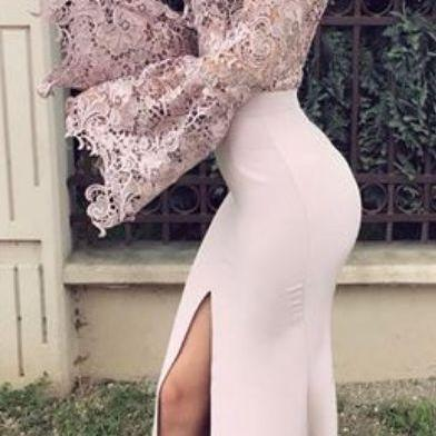 Charming Prom Dress, Sexy Mermaid P..
