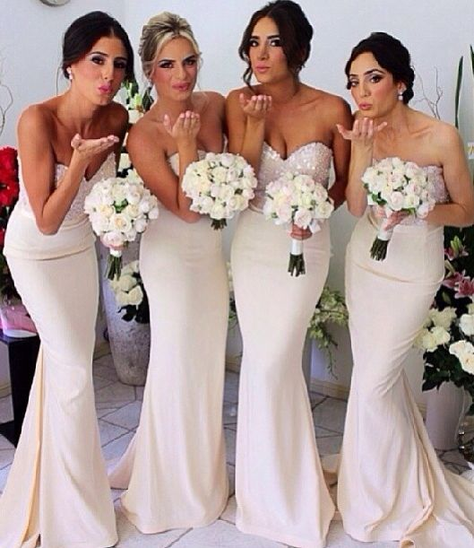 Sleeveless Prom Dress 2017 Mermaid Bridesmaid Wedding Guest F1224