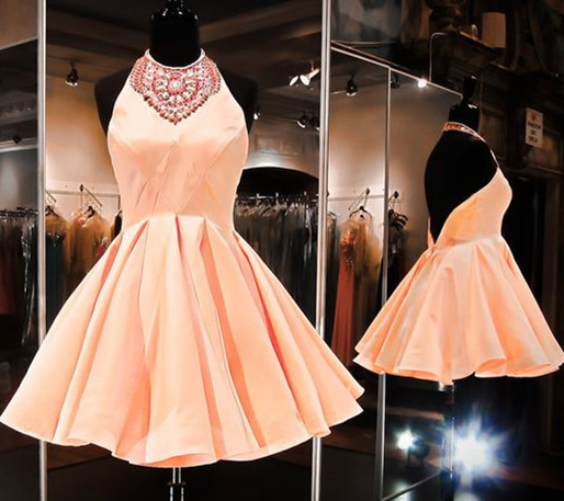 Simple Homecoming Dress,Elegant Homecoming Dresses,Short Prom Dress,Prom Party Gown,Cocktail Dresses F1910