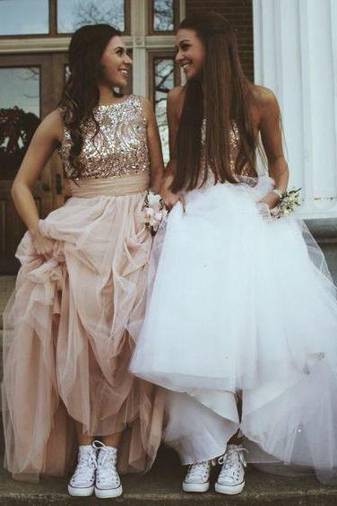 Charming Prom Dress,Elegant Tulle Prom Formal Gown,Sleeveless Evening Dress,Long Evening Gown,Sexy Prom Dresses F2657