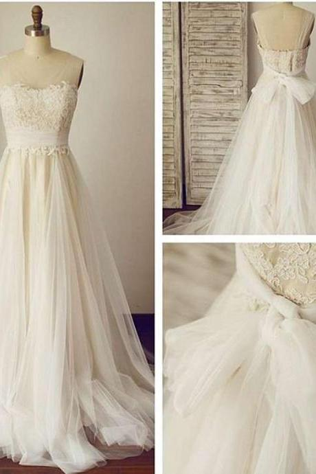 Charming Wedding Dress,Lace Wedding Dresses,Elegant Bridal Dress F3037