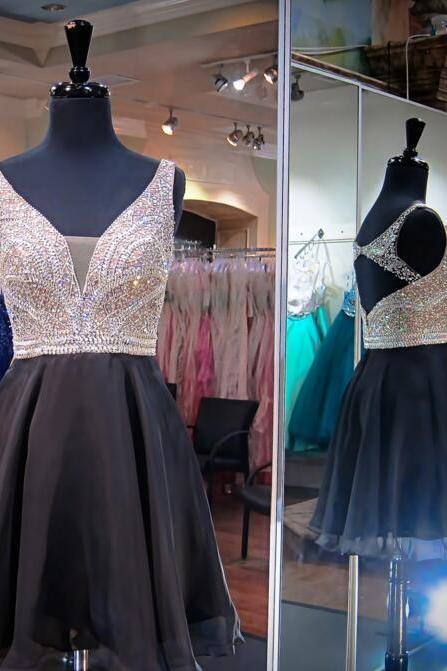 Charming Prom Dress,Tulle Prom Dress,Sexy Party Dress,Short Party Dress,Beaded Prom Dress,Homecoming Dress F3302