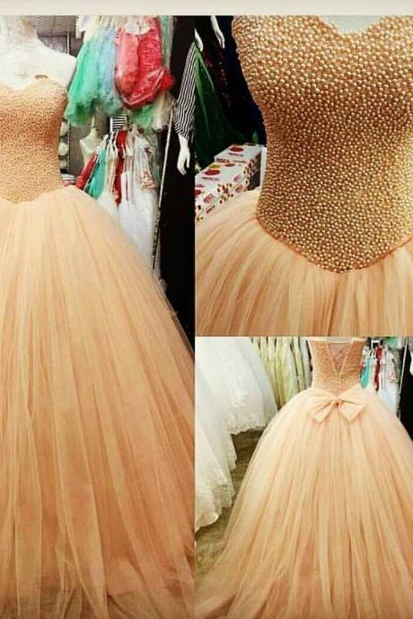 Charming Prom Dress, Sexy Evening Dress, Tulle Evening Party Dress, Ball Gown Prom Dresses, Formal Dress F3926