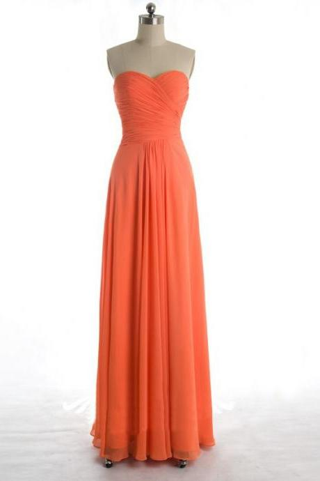 Charming Prom Dress,Sexy Prom Dresses, Evening Party Dress, Simple Evening Dress,Chiffon Floor Length Bridesmaid Dress F3949