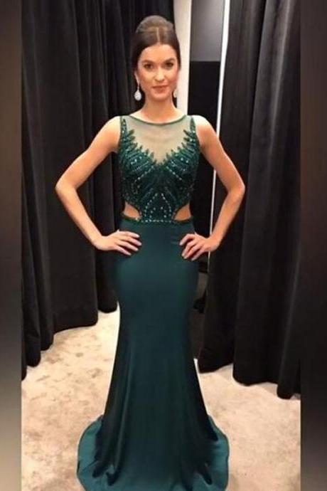 Charming Prom Dress, Long Prom Dresses, Sexy Mermaid Evening Dress