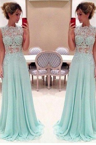 Charming Prom Dress,Long Prom Dresses,Beaded Chiffon Prom Dress,Sexy Backless Prom Dresses,Party Dress F356