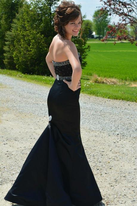 Charming Prom Dress,Mermaid Prom Dress,Elegant Evening Dress,Sexy Prom Dress F664