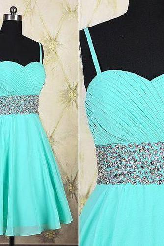 Sexy Prom Dress,Sleeveless Prom Dress,Short Prom Gown F1106