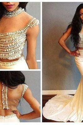 2017 Sleeveless Prom Dress,Sexy Evening Dress,Sexy Evening Gowns,Formal Gowns F1239