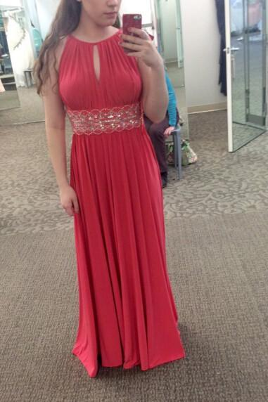 Charming Chiffon Prom Dress,Red Sleeveless Prom Dress,Sexy Floor Length Evening Dress F1348