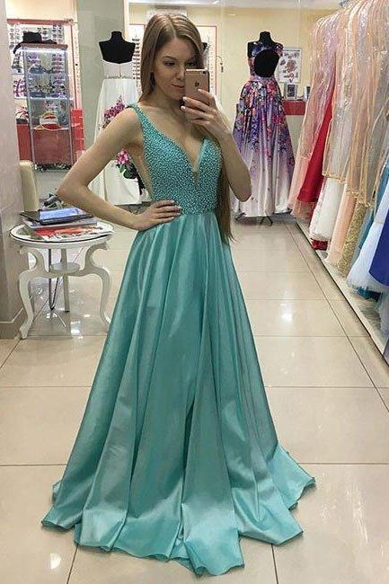 Charming Prom Dress,Elegant Prom Dress,Long Evening Dress,Sleeveless Prom Dresses,Homecoming Dresses F2022