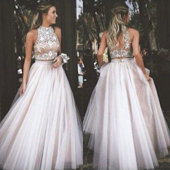 Charming Prom Dress,Sexy Prom Dress,Tulle Prom Dresses,Long Evening Dress,Formal Dresses F2114