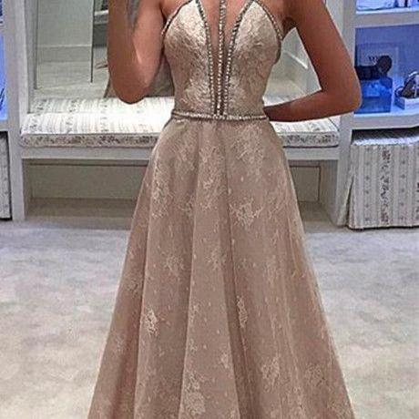 Charming Prom Dress,Sexy Prom Dress,Lace Prom Dresses,Long Evening Dress,Formal Dresses F2115