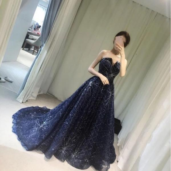 Charming Prom Dress, Sexy Prom Dresses, A Line Prom Dresses with Beaded,Long Evening Dress,Formal Dresses F2524