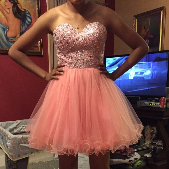 Sexy Prom Dress,Crystal Prom Party Dress, Short Prom Gown,Tulle Homecoming Dress,Graduation Dress F2751