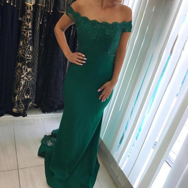 Charming Prom Dress,Lace Evening Dress, Mermaid Prom Dresses,Long Party Dress, Sexy Formal Dress F3364