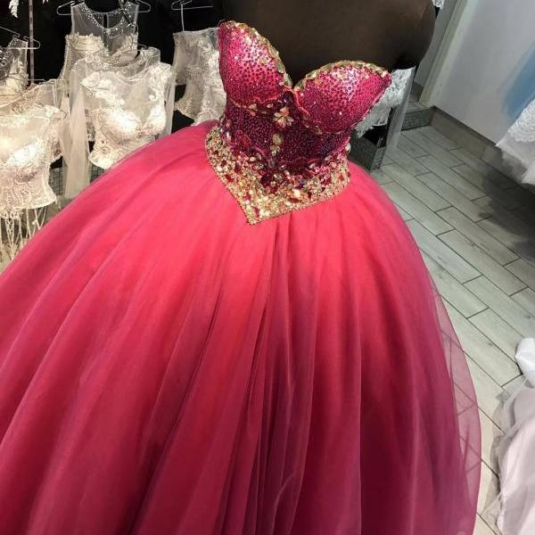 Charming Prom Dress,Ball Gown Prom Dresses, Tulle Quinceanera Dress, Formal Evening Dress F3366