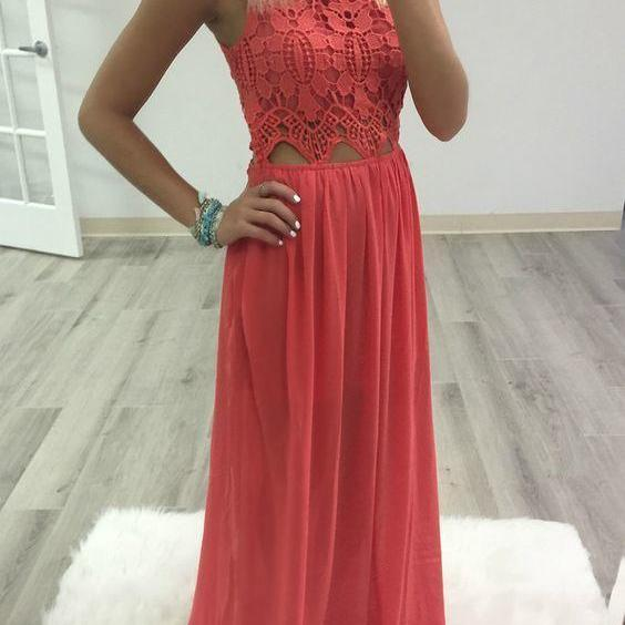 Prom Dress,Long Prom Dresses,Chiffon Prom Gown,Sexy Prom Party Dress F001