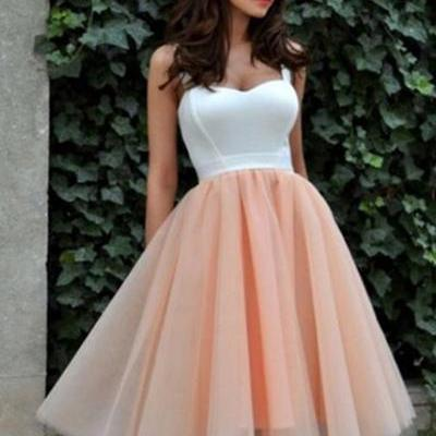 Sleeveless Party Dresses,Elegant Prom Dress,Short Homecoming Prom Dress F204