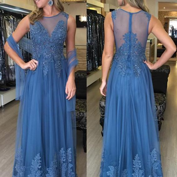 Charming Prom Dress,Sleeveless A Line Lace Prom Dress, Elegant Prom Dresses,Long Evening Dress F617
